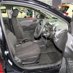 Chevrolet Aveo Manchester United Edition front seats at the 2014 Indonesia International Motor Show