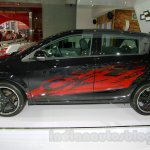 Chevrolet Aveo Manchester United Edition side at the 2014 Indonesia International Motor Show