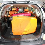 Chevrolet Captiva special edition boot at the 2014 Indonesia International Motor Show