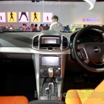 Chevrolet Captiva special edition dashboard at the 2014 Indonesia International Motor Show