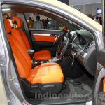 Chevrolet Captiva special edition front seats at the 2014 Indonesia International Motor Show