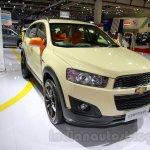 Chevrolet Captiva special edition front three quarters left at the 2014 Indonesia International Motor Show