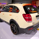 Chevrolet Captiva special edition rear three quarters at the 2014 Indonesia International Motor Show