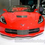 Chevrolet Corvette Stingray convertible front at the Indonesia International Motor Show 2014