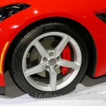 Chevrolet Corvette Stingray convertible wheel at the Indonesia International Motor Show 2014