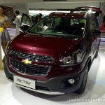 Chevrolet Spin Activ front three quarters at the 2014 Indonesia International Motor Show