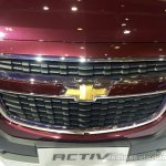 Chevrolet Spin Activ grille at the 2014 Indonesia International Motor Show