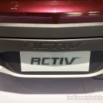 Chevrolet Spin Activ registration plate at the 2014 Indonesia International Motor Show