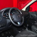 Dacia Lodgy Stepway interior at the 2014 Paris Motor Show