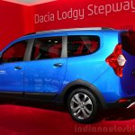 Dacia Lodgy Stepway rear three quarters at the 2014 Paris Motor Show