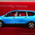 Dacia Lodgy Stepway side at the 2014 Paris Motor Show