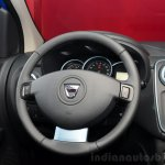 Dacia Lodgy Stepway steering wheel at the 2014 Paris Motor Show