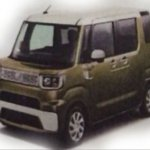 Daihatsu 1BOX brown front