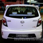 Daihatsu Ayla GT2 rear at the Indonesia International Motor Show 2014