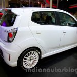 Daihatsu Ayla GT2 rear three quarters right at the Indonesia International Motor Show 2014