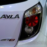 Daihatsu Ayla GT2 taillamp at the Indonesia International Motor Show 2014