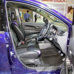 Daihatsu Xenia Indigo front seats at the 2014 Indonesia International Motor Show