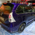 Daihatsu Xenia Indigo rear three quarters right at the 2014 Indonesia International Motor Show