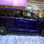 Daihatsu Xenia Indigo side view at the 2014 Indonesia International Motor Show