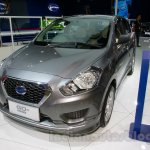 Datsun Go+ Panca Accessorized at the 2014 Indonesia International Motor Show front quarter