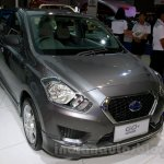 Datsun Go+ Panca Accessorized at the 2014 Indonesia International Motor Show front quarters