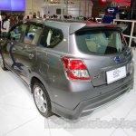 Datsun Go+ Panca Accessorized at the 2014 Indonesia International Motor Show rear quarter