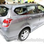 Datsun Go+ Panca Accessorized at the 2014 Indonesia International Motor Show rear three quarter