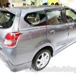 Datsun Go+ Panca Accessorized at the 2014 Indonesia International Motor Show rear three quarter