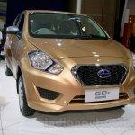 Datsun Go+ Panca at the 2014 Indonesia International Motor Show front three quarter