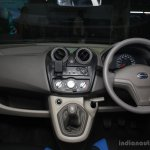 Datsun Go dashboard at the 2014 Nepal Auto Show