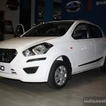 Datsun Go front three quarter at the 2014 Nepal Auto Show