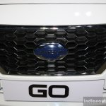Datsun Go grille at the 2014 Nepal Auto Show