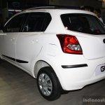 Datsun Go rear three quarter at the 2014 Nepal Auto Show