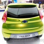 Datsun redi-GO at the 2014 Indonesia International Motor Show rear