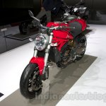 Ducati Monster 1200 front three quarters right at the 2014 Moscow Motor Show