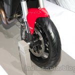 Ducati Monster 1200 front wheel at the 2014 Moscow Motor Show