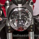 Ducati Monster 1200 headlamp at the 2014 Moscow Motor Show