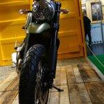 Ducati Scrambler green front at INTERMOT 2014