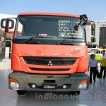 FUSO FJ 2523R 6×2 Super-long cargo, wing body front at the Indonesia International Motor Show 2014