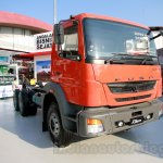 FUSO FJ 2528 front three quarters left at the Indonesia International Motor Show 2014