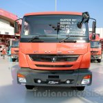 FUSO FJ 2528M 6×4 Heavy mixer front at the Indonesia International Motor Show 2014