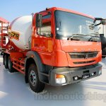 FUSO FJ 2528M 6×4 Heavy mixer front three quarters left at the Indonesia International Motor Show 2014