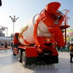 FUSO FJ 2528M 6×4 Heavy mixer rear three quarters at the Indonesia International Motor Show 2014