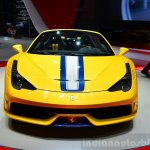 Ferrari 458 Speciale Aperta front at the 2014 Paris Motor Show