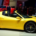 Ferrari 458 Speciale Aperta profile at the 2014 Paris Motor Show
