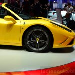 Ferrari 458 Speciale Aperta wheel at the 2014 Paris Motor Show