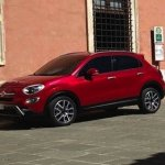 Fiat 500X mini SUV zoom in