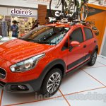 Fiat Avventura at Delhi front quarter