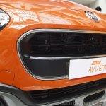 Fiat Avventura at Mumbai grille