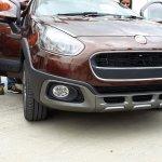 Fiat Avventura bronze spied front